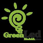 green led logo